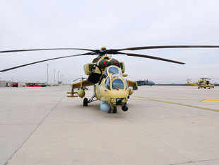 Afghanistan said three of the four multirole Mi-35 helicopters that India donated to it last month have been assembled and are now fully operational.