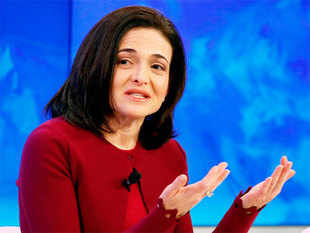 Sandberg was speaking at a panel discussion on 'Transformation of Tomorrow' on the first day of the World Economic Forum in Davos.