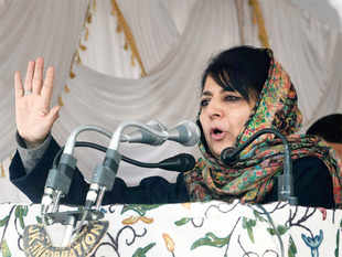 "Mehbooba Mufti, may be waiting for the Narendra Modi government to lob some ""positive talking points"" so that unrest among MLAs can be eased."