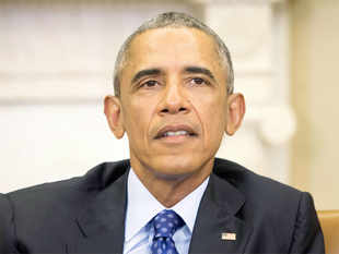 """Describing himself as """"passionate"""" about confronting climate change, Obama said few countries will see effects more than India, with melting glaciers."""