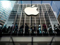 Apple Inc is expected to report iPhone sales increased slightly more than 1 per cent in the holiday quarter when it announces earnings on Tuesday, its slowest growth ever and far from the double-digit growth investors have come to expect.