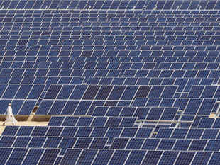 (Representative picture) Adani Power and Azure Power have won the latest auction for solar energy projects with bids of Rs 4.78 per unit.