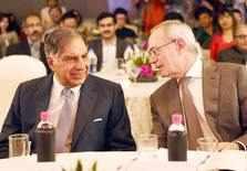 Ratan Tata with Rafael Reif