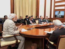 Prime Minister reviewed status of the scheme for the development of solar parks in various states including in Jammu and Kashmir.