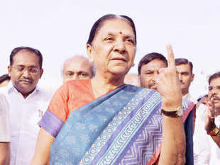 The warning to Anandiben Patel to shape up or ship out comes after the recent drubbing in the recent local bodies polls.