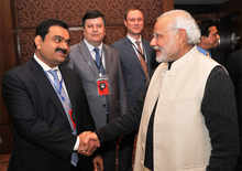 PM Modi with Gautam Adani