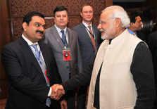 PM Modi with Gautam Adani