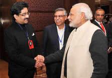 PM Modi with Kumar Mangalam