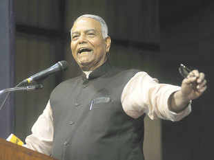 Veteran BJP leader Yashwant Sinha today tore into Prime Minister Narendra Modi and his government, saying there is no dialogue and they may meet the same fate as the Indira Gandhi-led Congress which was drubbed in the elections after Emergency.