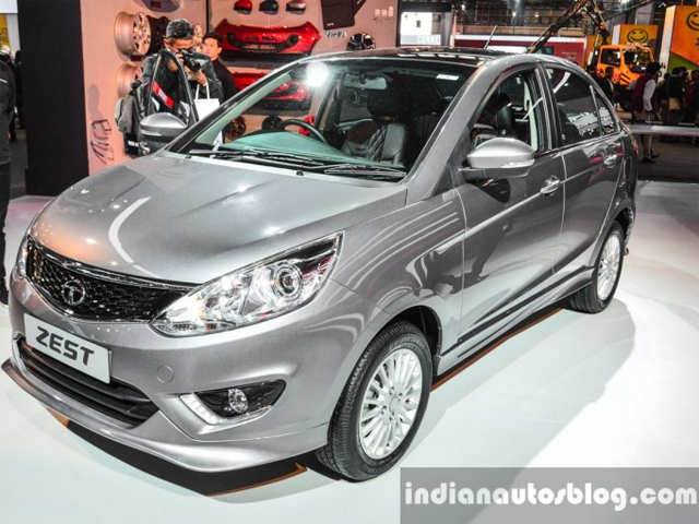 new launched car zestTata Motors showcases custom Tata Zest at Auto Expo 2016  Tata