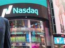 Nasdaq closed at its lowest since October 2014, leading a selloff on Wall Street following weak forecasts from technology cos including LinkedIn.
