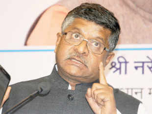 """Digital India provides an enormous investment opportunity for both global technology companies and startups from tech hubs,"" Ravi Shankar Prasad said."