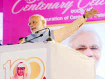 Prime Minister Narendra Modi dedicated to the nation Indian Oil Corp's Rs 34,555 crore refinery in Paradip.