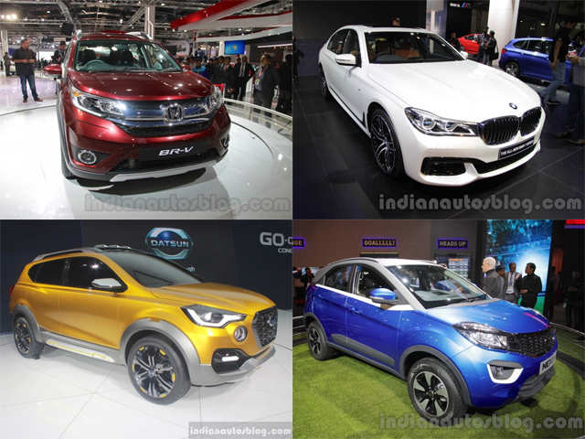 new car launches at auto expoList of new cars unveiled at the Auto Expo 2016  List of new cars