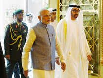 The UAE leader is scheduled to visit the country for three days, but he may extend the trip to attend the first day of the 'Make in India Week' in Mumbai.