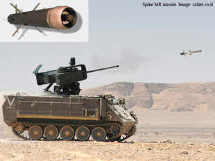 (In pic: Spike MR missile. Image: rafael.co.il). Some headway has been made over the stalled negotiations for an initial Rs 3,200 crore contract for 321 'Spike' ATGM systems.