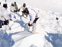 Dogged determination of over 150 soldiers helped by two canines, Dot and Misha, besides earth penetrating radars and special ice cutting equipment helped rescue Lance Naik Hanamanthappa Koppad, who was buried under tonnes of ice at 19,500 feet on the Siachen Glacier.