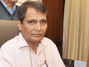 Suresh Prabhu said that the handheld terminals launched in Northern Railways will enable TTEs to update an entire train's passenger list.
