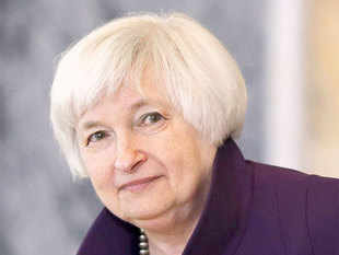 Tightening financial conditions and uncertainty over China pose risks to the US recovery, but chances are slim the Fed would need to reverse the rate tightening cycle it began in December, Yellen told US lawmakers.