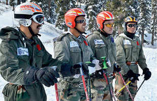 Indian army men learn to survive and fight in the world's highest battleground at 20,000 feet.