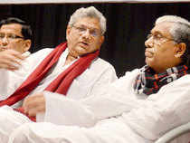 """Forty eight of the total 85 members of Bengal CPIM state committee on Saturday spoken in favour of forging an electoral alliance with the Congress. Earlier on Friday, majority of the members who spoke during the two-day state committee meeting, wanted an alliance with the Congress. In all, majority of the state committee members want poll alliance with the Congress. However, there are exceptions and some members from Burdwan, Murshidabad and Malda districts raised questions about the alliance with """"rightist"""" Congress."""