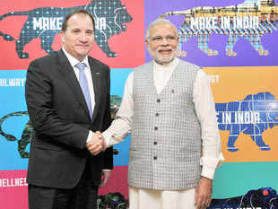 Sweden PM Stefan Lofven said that telecom major Ericsson would play an important role in digital transformation of India.