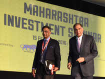 Ratan Tata today urged the governments, especially in Maharashtra to keep pace with growth and think big in skilling, innovation and infrastructure. Image By:  Bharat Chanda