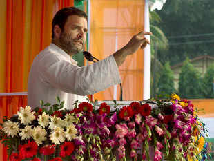 Criticising the central government over the economic situation Gandhi said, 'despite oil prices coming down to $30 per barrel, commodity prices are yet to come down.'