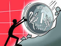 The rupee is not too far away from hitting 70 to the dollar and could slump even further to a new record by the end of the year, according to an ET Poll.