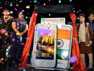 The celebrations haven't lasted long as the firm was surrounded in controversy around showcasing a rival company, Adcom's handset, as its own.