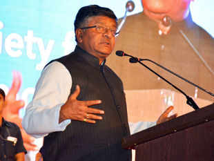 """Women will also play a fundamental role in information technology revolution for creating social change,"" Ravi Shankar Prasad said."