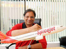 SpiceJet chief Ajay Singh today said Ratan Tata should ask Vistara and AirAsia to serve India before getting to fly international.
