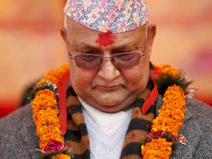 Nepal PM, K P Sharma Oli on Monday tried to clear air over his government's attempts to reach out to China and claimed that his country does not play India or China card.