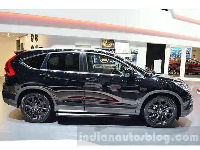 Geneva Motor Show Honda CRV Black Edition unveiled  Geneva