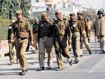 In view of the input, Delhi Police today heightened its vigil near iconic buildings and military installations in the national capital and security arrangements were stepped up near prominent malls, hospitals, schools and colleges in the city.