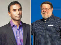 Shiva Ayyadurai (Left) and Ray Tomlinson (Right).