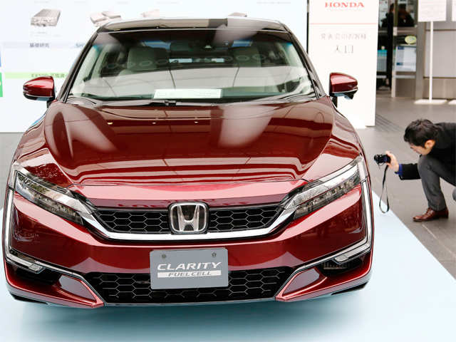 new car launches in japanHonda launches new Clarity fuel cell vehicle in Japan  Honda