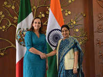 Swaraj and her Mexican counterpart Claudia Ruiz Massieu Salinas talked about ways and means of elevating the special relationship between the two countries.