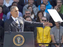 Politics at its best is a 'battle of ideas' that does not involve promoting or resorting to violence, Obama said.
