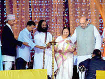 """""""If Guruji takes initiative of bringing the Centre and Delhi government together, then under his leadership, Yamuna river can certainly be cleaned up."""""""