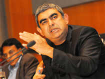 Infosys bagged large deals from companies including Deutsche Bank, Mercedes-Benz and the Goods and Services Tax Network (GSTN) in India.