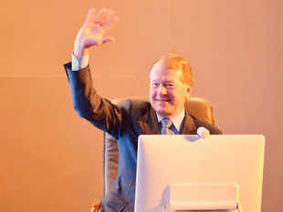 John Chambers, Chairman of US tech giant Cisco, today met Prime Minister Narendra Modi to discuss the firm's role in various government initiatives.