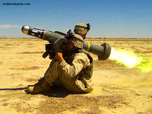 """With our partner (Raytheon) and the support of US government, we will highlight the Javelin Anti-Tank Guided Missile system,"" says Lockheed."
