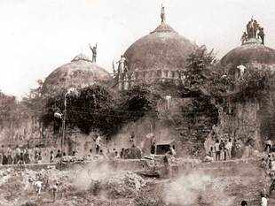 It is only for political mileage that the BJP and the Congress call the masjid site Ram's janmbhoomi (birthplace), says Hashim Ansari, Oldest litigant representing Muslims in the dispute.