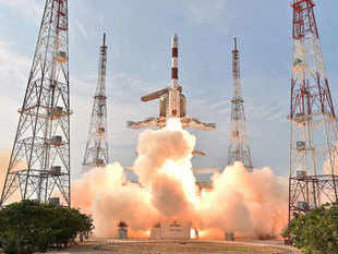 India is all set to script history by launching a record number of 22 satellites, including a number of micro and nano ones from foreign countries, in a single mission in May this year. (Representative image)
