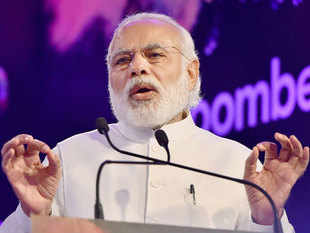 "PM Narendra Modi today stressed that the government as well as RBI is taking ""tough action"" to recover loans from corporate defaulters."