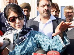 PDP leader Mehbooba Mufti, set to be the first woman Chief Minister of Jammu and Kashmir, is likely to be sworn-in on April four.