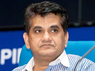Niti Aayog CEO Amitabh Kant said the government's entire focus is on DBT across board and the key to that is the ability to have machine like this one.