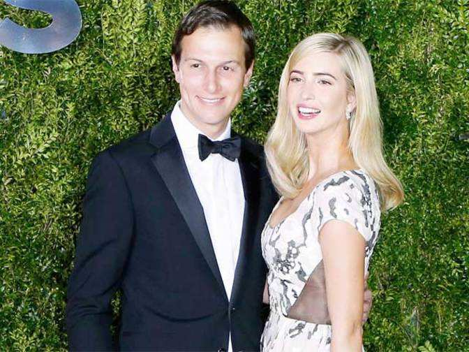 Behind Donald Trump, a son-in-law Jared Kushner who is also an adviser