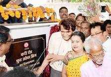 Suresh Prabhu in Mumbai